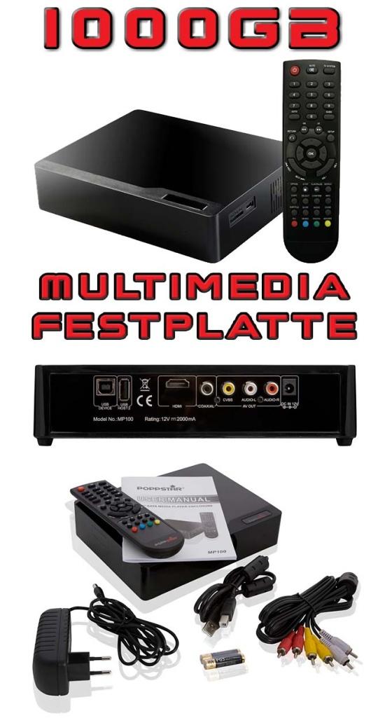 1000gb multimedia festplatte tv player usb hdmi mkv 1tb ebay. Black Bedroom Furniture Sets. Home Design Ideas